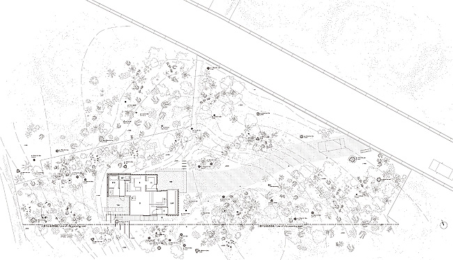 Eureka | Eagle Woods House_Site plan